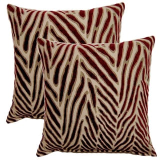 Canal Fusion 17-inch Throw Pillows (Set of 2)