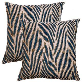 Canal Ocean 17-inch Throw Pillows (Set of 2)