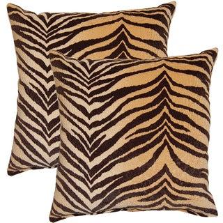 Bengali Tawny17-inch Throw Pillows (Set of 2)