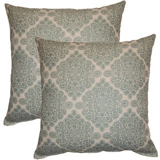 Harlow Seafoam 17-inch Throw Pillows (Set of 2)