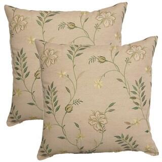 Lyndhurst Clover 17-inch Throw Pillows (Set of 2)