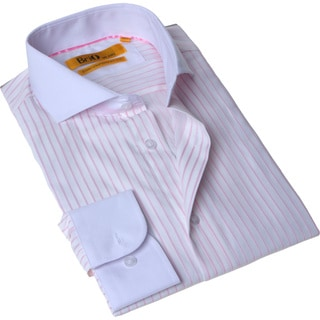 Brio Milano Men's Button Down Dress Shirt