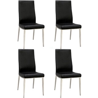 Somette Jadyn High Contour Back Side Chair (Set of 4)