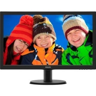 "Philips V-line 243V5LSB 23.6"" LED LCD Monitor - 16:9 - 5 ms"