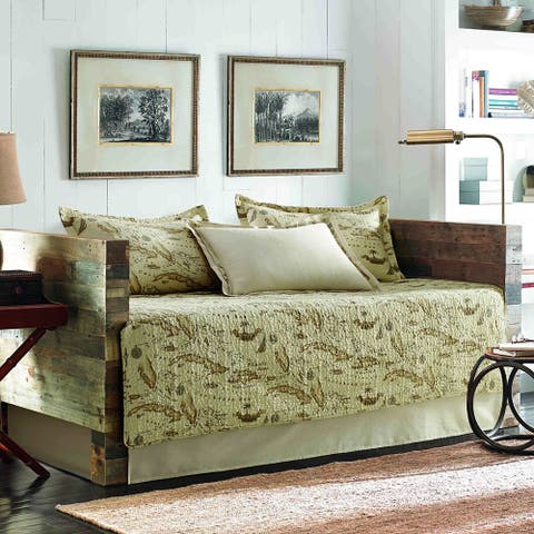 Tommy Bahama Map 5-piece Quilted Daybed Cover Set