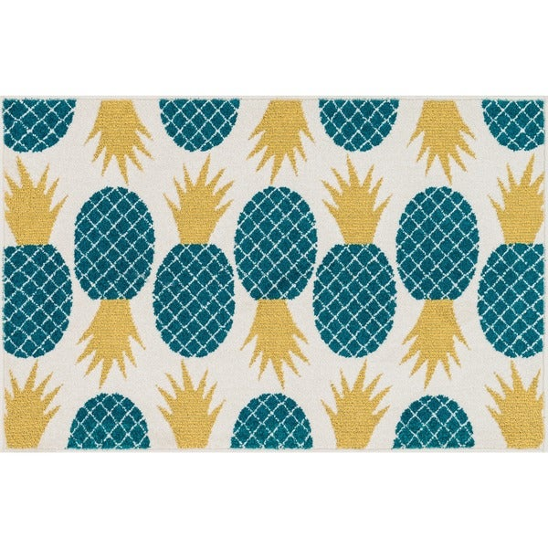 Shop Maddy Pineapple Rug (2'5 X 3'9)