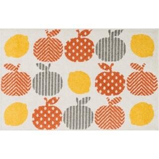 Maddy Orange/ Multi Fruit Rug (2'5 x 3'9)