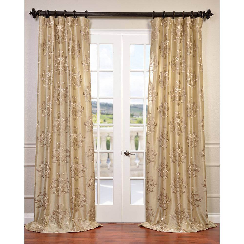 faux pdx single hallman panels taffeta astoria curtains ruched treatments thermal silk curtain pocket rod panel grand window