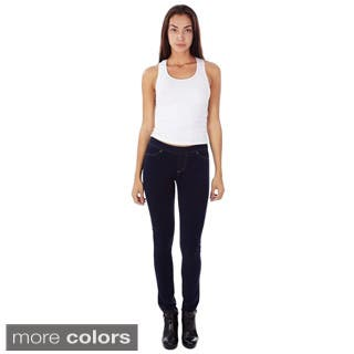 Denim and Colors French Terry Juniors's Skinny Fit Super Stretch and Comfy Pull-on Jeggings|https://ak1.ostkcdn.com/images/products/9734130/P16908657.jpg?impolicy=medium