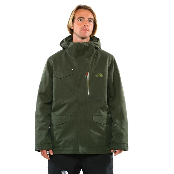 e42f79092ef8 Shop The North Face Men s Forest Night Green Gatekeeper Jacket ...