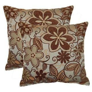 Tahiti 17-inch Throw Pillows (Set of 2)