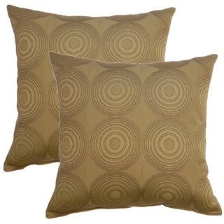 Compass 17-inch Throw Pillows (Set of 2)