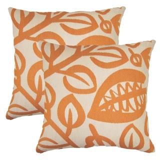 Karina 17-inch Throw Pillows (Set of 2)