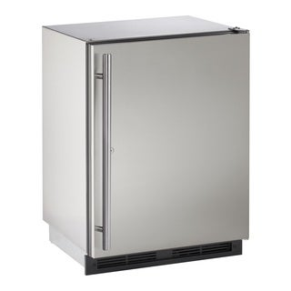U-Line 1000 Series 1224 - 24 Inch Outdoor Stainless Steel Refrigerator