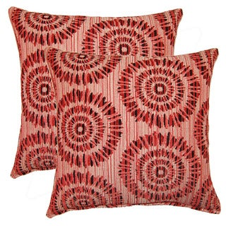 Bahari 17-inch Throw Pillows (Set of 2)