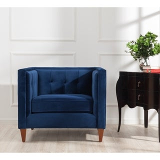 Meridian Taylor Green Velvet Chair Free Shipping Today
