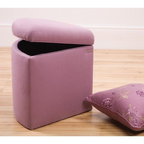 Super Sandy Wilson Daphne Corner Storage Ottoman Dailytribune Chair Design For Home Dailytribuneorg