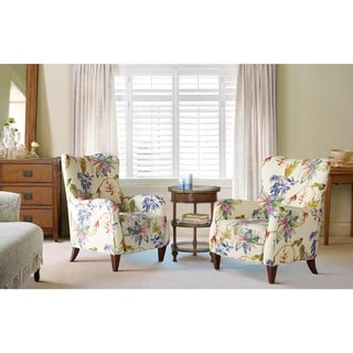 """Link to Jennifer Taylor Paradise Upholstered Arm Chair - 27.5""""LX32""""WX36""""H Similar Items in Living Room Chairs"""
