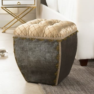 Link to Jennifer Taylor Jan Traditional Decorative Ottoman Similar Items in Cocktail Ottomans