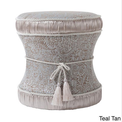 Gracewood Hollow Zimunya Decorative Vanity Stool