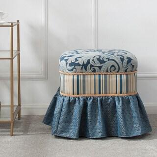 Jennifer Taylor Macy Traditional Decorative Ottoman