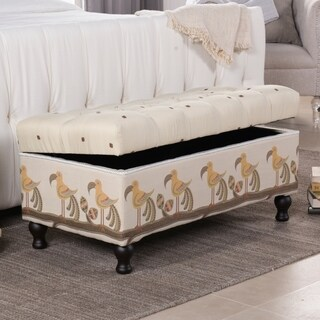 Jennifer Taylor Naomi Entryway Storage Bench (3 options available)