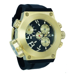 "Adee Kaye Men's Oversized ""Bulldozer G2"" Collection Watch"