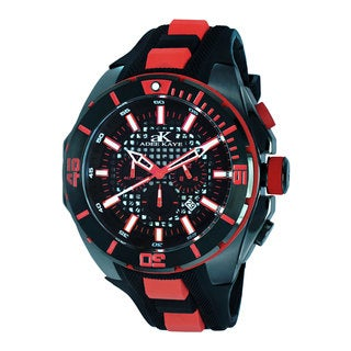"""Adee Kaye Men's """"Imposer"""" Collection Watch (Option: Red)"""