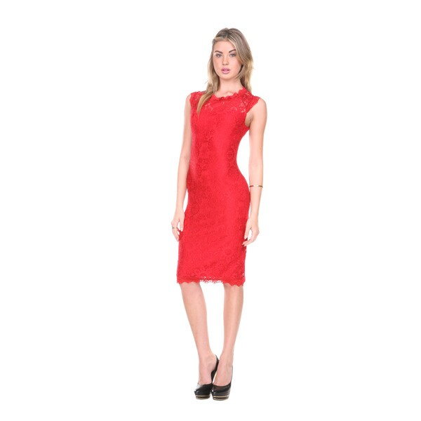 Cocktail red dresses for women