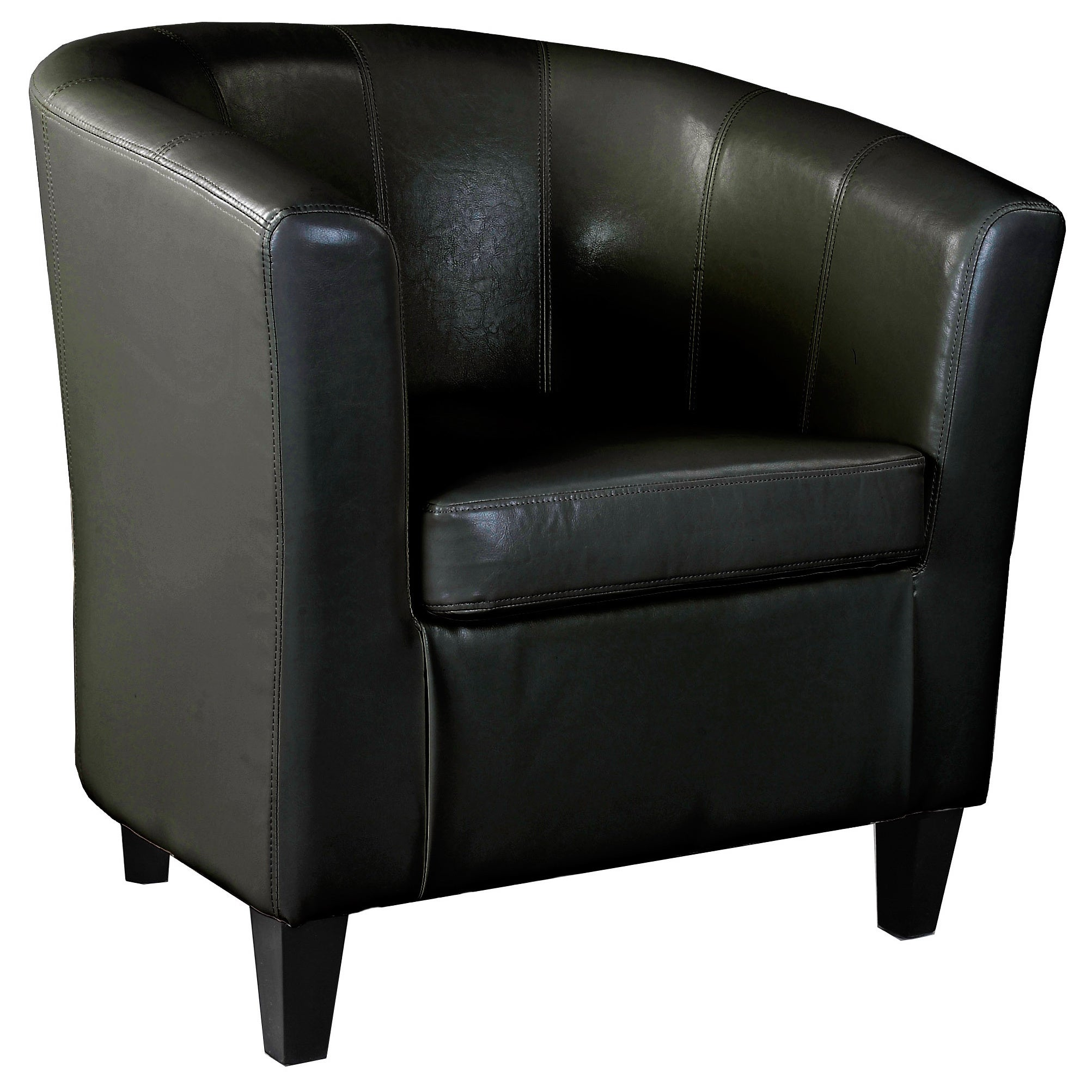Shop Clay Alder Wallace Leather Tub Chair - Free Shipping On Orders ...
