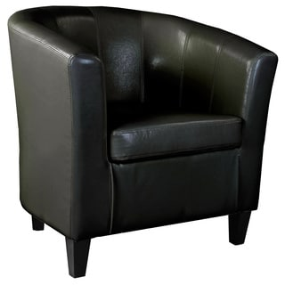CorLiving Antonio Leather Tub Chair