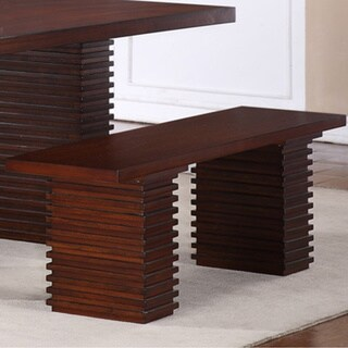 Hightower Mahogany Bench