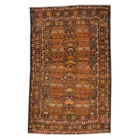 Herat Oriental Semi-antique Afghan Hand-knotted Tribal Wool War Rug (2'9 x 4'5)