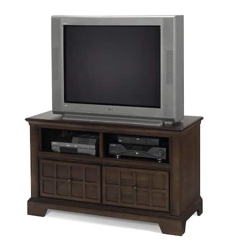 """Casual Traditions Walnut Media Chest - 48"""""""