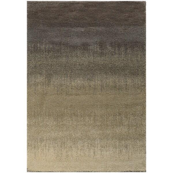 Clay Alder Home Cedar Ombre Shag Grey/ Beige Rug - 7'10 x 10'10