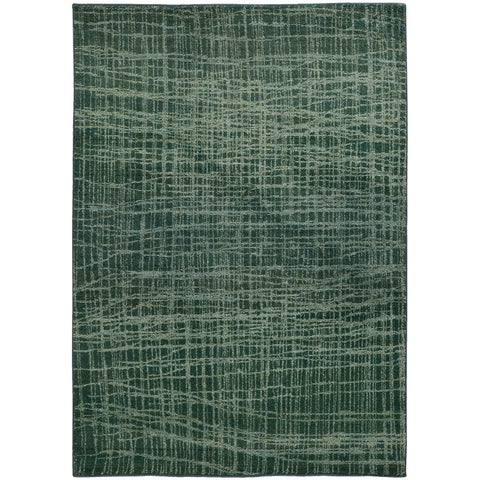 Pantone Universe Expressions Abstract Blue/ Green Rug - 7'10 x 10'10