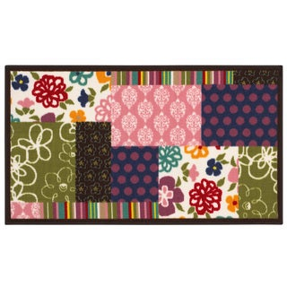Novelty Youth Loop-pile Multi Rug (4'4 x 6'9)