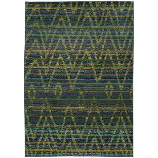Blue Green 8x10 Rug Home Goods For Less Overstock