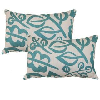 Karina 12.5-inch Throw Pillows (Set of 2)