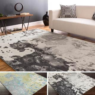 Meticulously Woven Ann Abstract Area Rug (5'2 x 7'6)