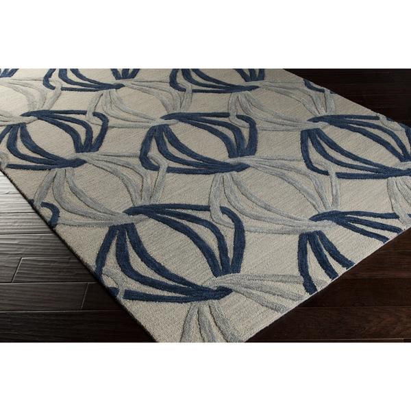 Hand-Tufted Mydland Contemporary New Zealand Wool Rug (3'3 x 5'3)