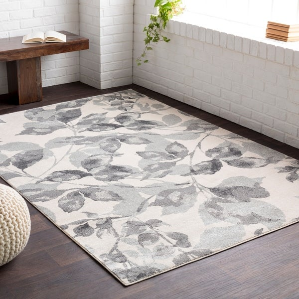 Shop Alme Grey White Area Rug 2 2 Quot X 3 On Sale Free