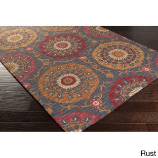 Hand-Tufted Daphne Southwestern Wool Area Rug - 2' x 3' (4 options available)