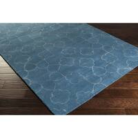 """Hand-tufted Grady Floral New Zealand Wool Area Rug - 3'3"""" x 5'3"""""""