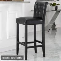 Porch & Den Silver Lake McCollum Black Bar Stool