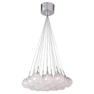 Maxim Lighting Translucent Starburst Multi-Light Pendant Fixture