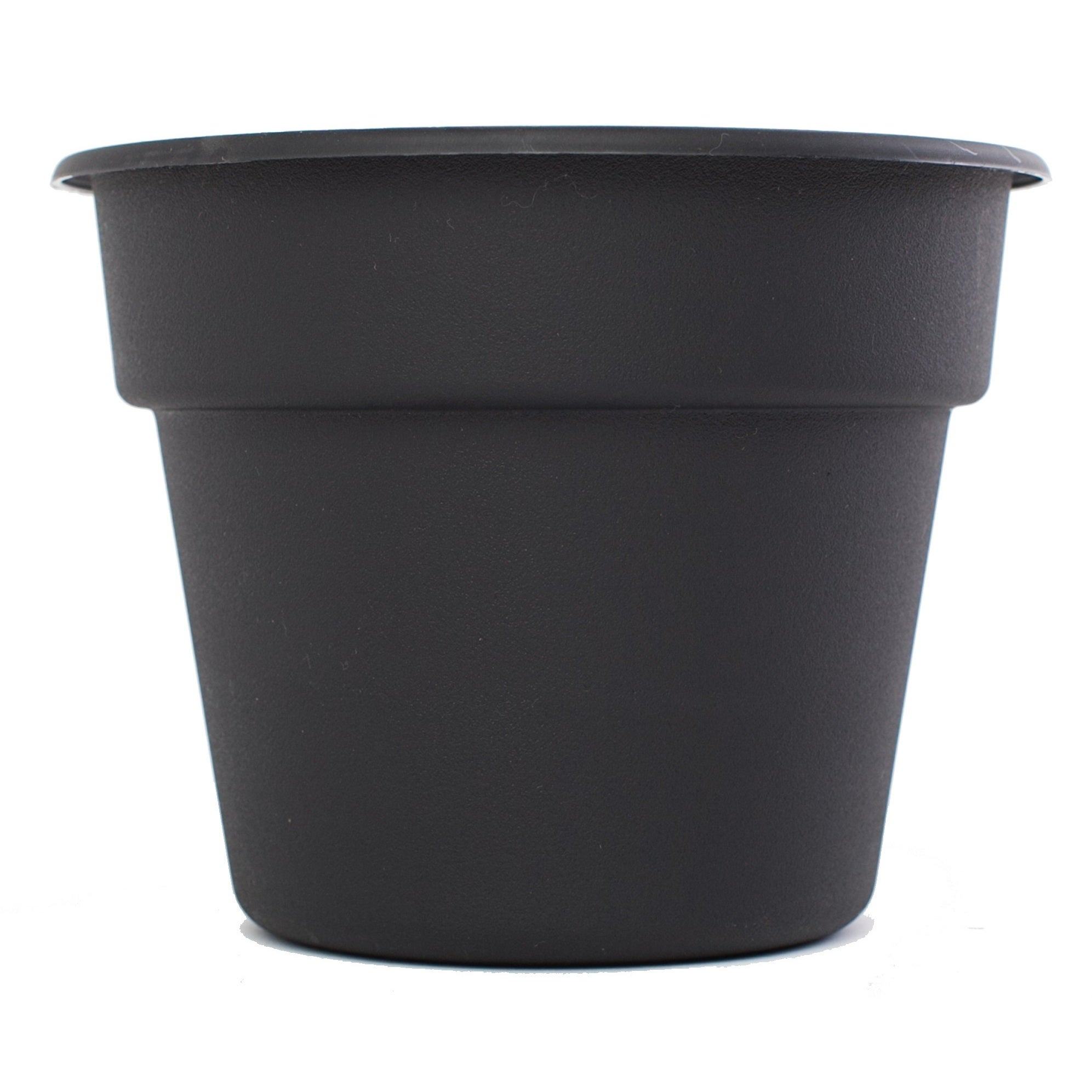 Bloem Dura Cotta Black Saucer 4