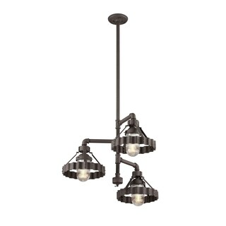 Troy Lighting Canary Wharf 3-light Dining Pendant