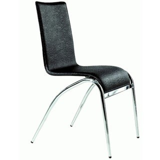 Somette Laine Black Arch Leg Dining Chair (Set of 4)