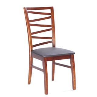 Somette Cher Solid Oak Modern Side Chair (Set of 2)